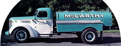 McCarthy Heating Oil Truck